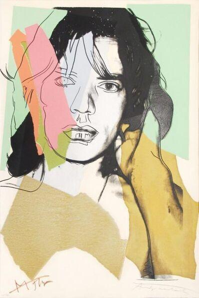 Andy Warhol, 'Mick Jagger (F. & S. II.140)', 1975