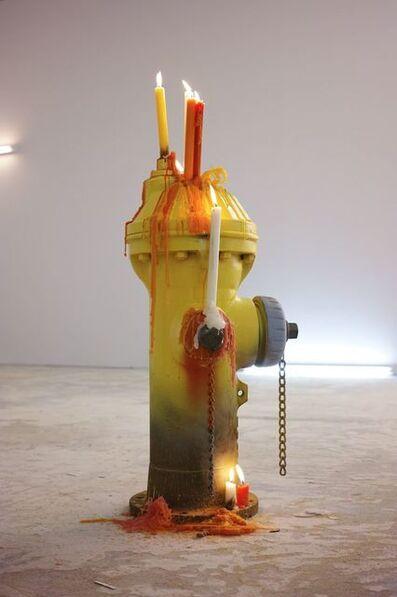 Mark Handforth, 'Flaming Iowa', 2014