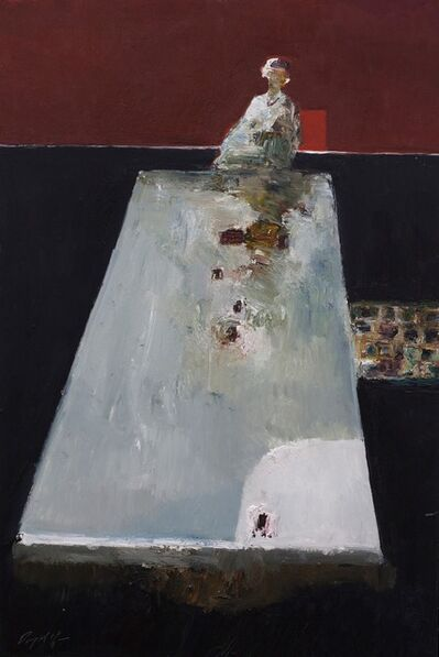 Danny McCaw, 'Head of Table', 2018
