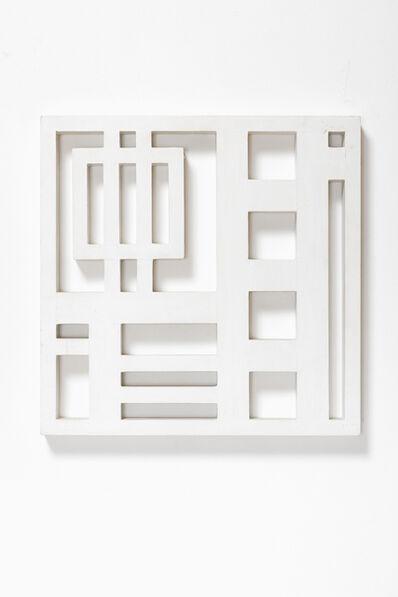 Attila Joláthy, 'Structure in White', 1969