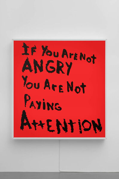 Sam Durant, 'If You Are Not Angry Then You Are Not Paying Attention', 2017