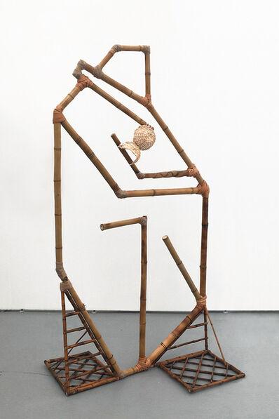 Paula Castro, 'Abstracción geométrica del Beso de Rodin', 2017