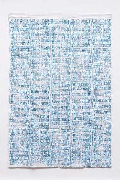 Louis Cane, 'Toile Tamponnée', 1969