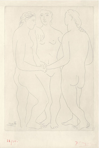 Pablo Picasso, 'Les Trois Amies', 1923