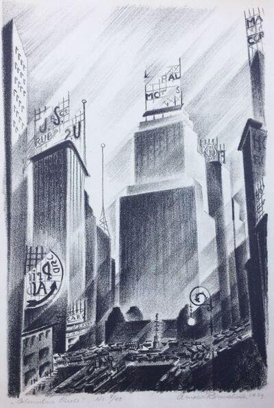 Arnold Ronnebeck, 'Columbus Circle', 1929