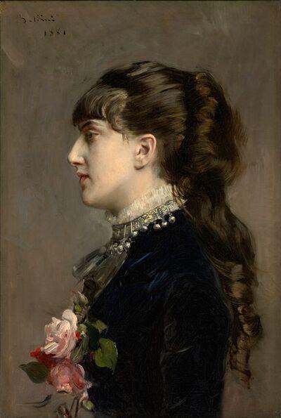 Giovanni Boldini, 'Madame Céline Leclanché', 1881