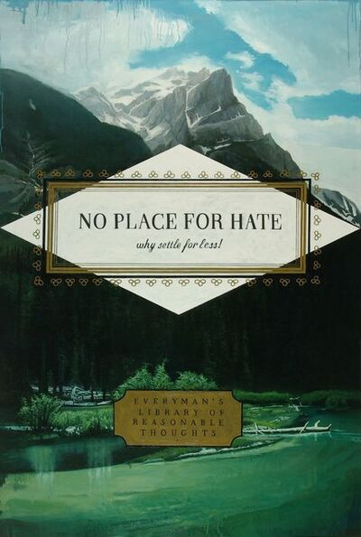 Don Pollack, 'No Place for Hate', 2017