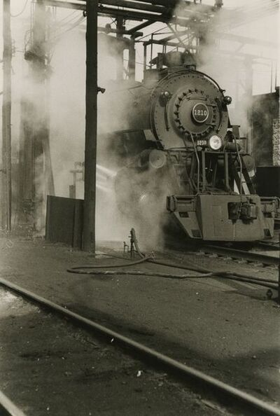 Walker Evans, 'The Last of Railroad Steam, Fortune', 1958