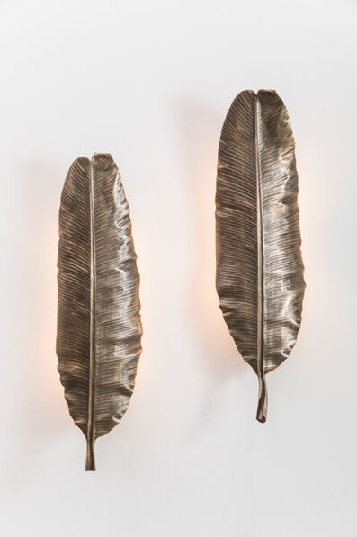 Erin Sullivan, ' Flora Series, Bronze Banana Leaf Sconces, USA', 2019