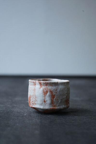 """Shiro Tsujimura, 'Sake Cup """"Shino-Style""""'"""