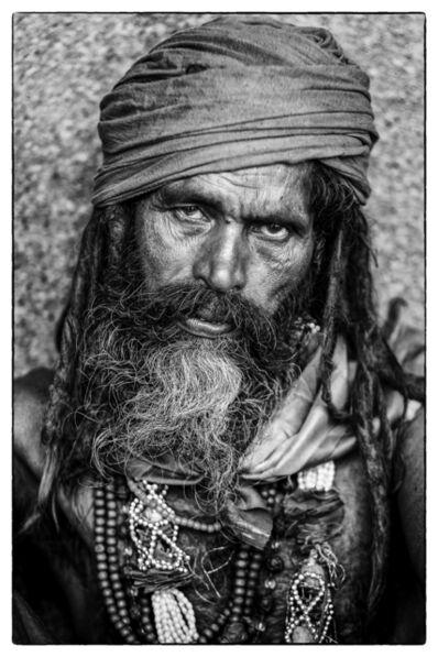 Peter Aitchison, 'Bearded Man'