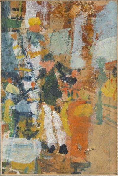 Jean Pougny, 'Jeune garçon près d'un réverbère'