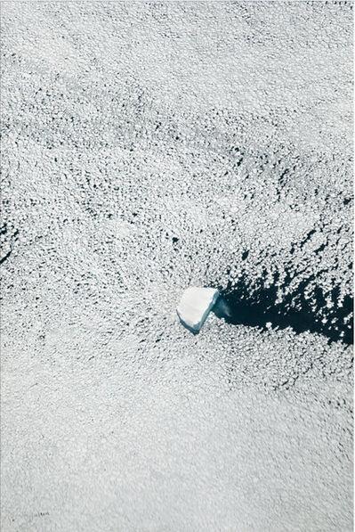 Paolo Pellegrin, 'NASA IceBridge flight surveying climate change in Antarctica. Aerial taken from a NASA P3 plane flying over South Peninsula A. Antarctica', 2017