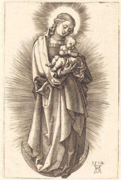 Albrecht Dürer, 'The Virgin and Child on a Crescent with a Diadem', 1514