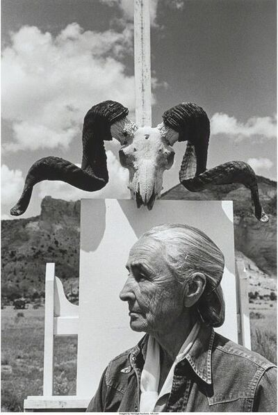 Arnold Newman, 'Georgia O'Keefe, Ghost Ranch, New Mexico', 1968
