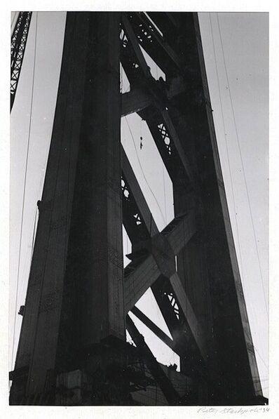 Peter Stackpole, 'Building the Golden Gate Bridge [California]', 1934