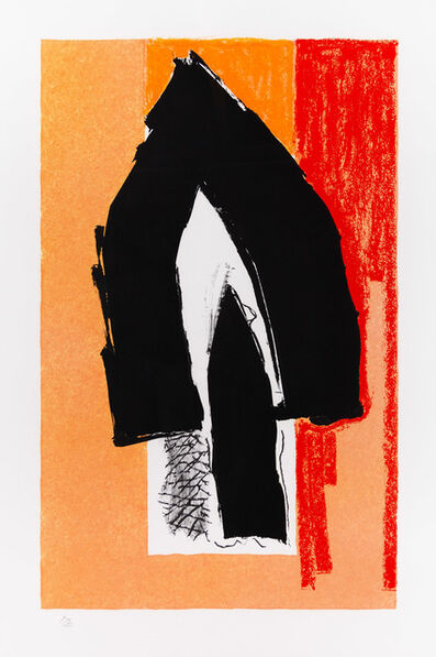 Robert Motherwell, 'Black Cathedral', 1991