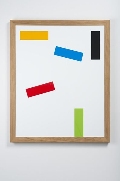 Gerwald Rockenschaub, 'Acrylic glass inlay, wooden frame', 2013