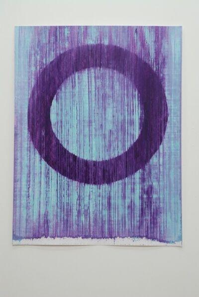 Peter Care, 'Volatile Ring I Blue/Violet', 2019
