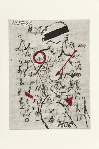 William Kentridge, 'Nose 24', 2009