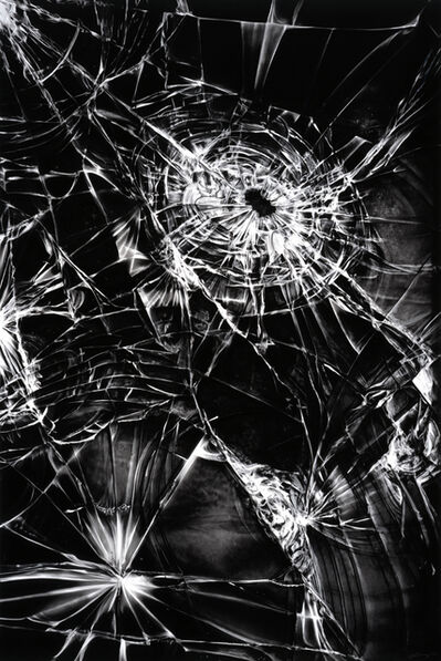 Robert Longo, 'Untitled (Shattered iPhone Screen)', 2016