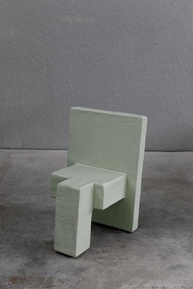 Nucleo, 'Primitive chair by Nucleo_Piergiorgio Robino + Stefania Fersini', 2010