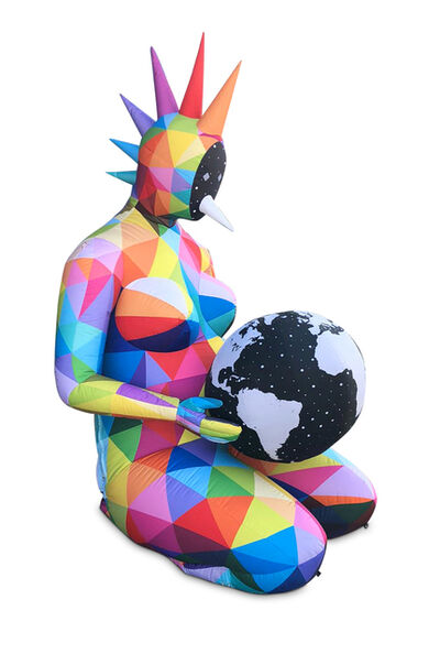 Okuda San Miguel, 'Playing with the World', 2020