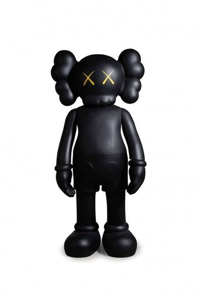 KAWS, 'Four Foot Companion (Black)', 2007