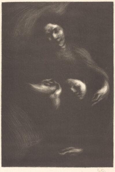 Eugène Carrière, 'Hommage à Tolstoï', 1901