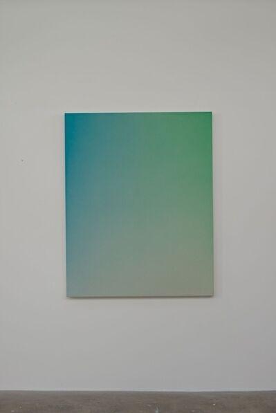 Oliver Marsden, 'Fade XXX Light Manganese Blue Green', 2014