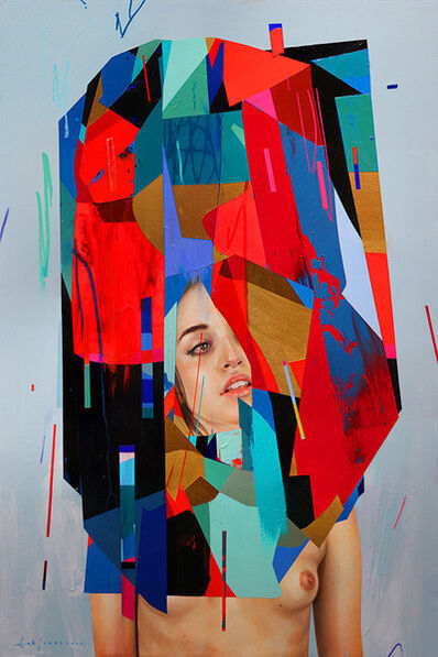 "Erik Jones, '""Shell: Blue Ground""', 2014"