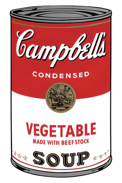 Andy Warhol, 'Campbell's Soup Can 11.48 (Vegetable)', 1960s printed after