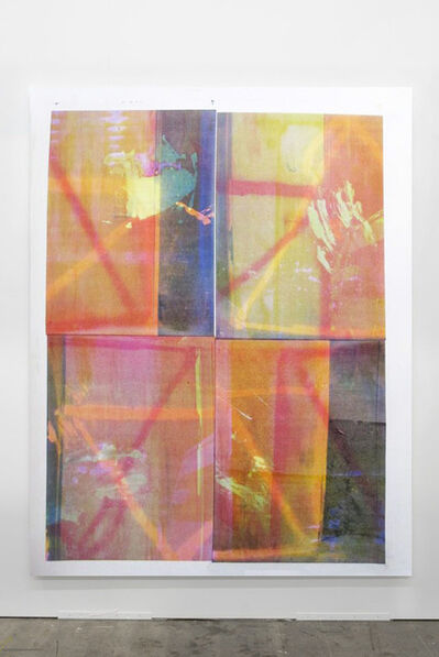 Baptiste Caccia, 'Noix sur parca n°9', 2014