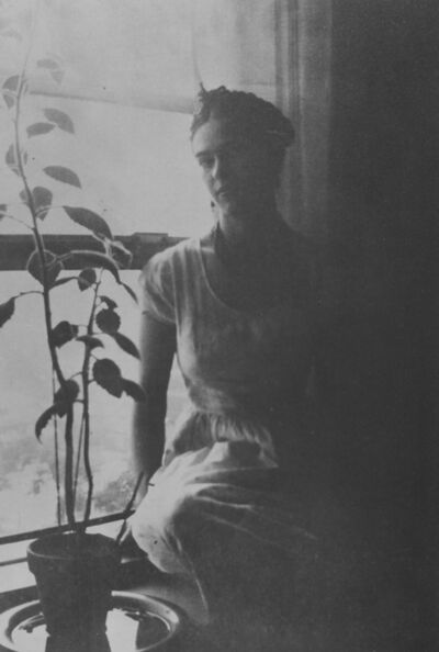 Lucienne Bloch, 'Frida by the Window', 1932