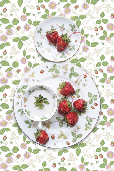 JP Terlizzi, 'Wedgwood Wild Strawberry with Strawberry', 2019