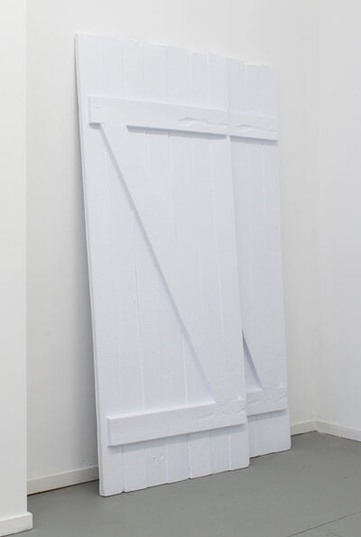 Sarah and Charles, 'Two barn doors ', 2015