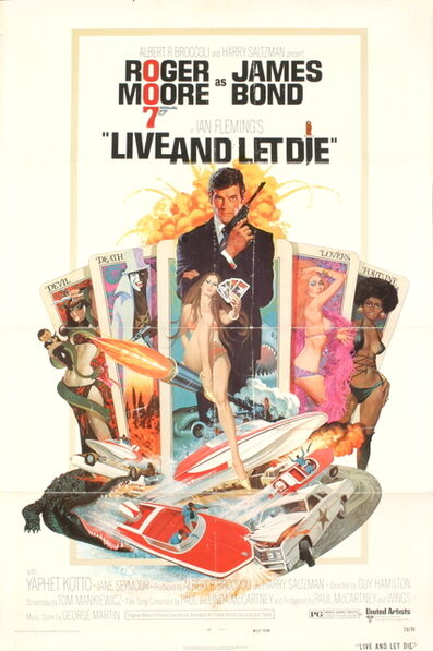 Unknown Artist, 'James Bond - Live and Let Die', 1973
