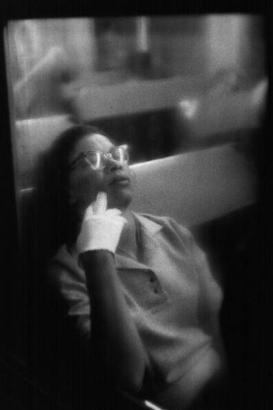 Louis Stettner, 'Woman with White Glove, Penn Station', 1958