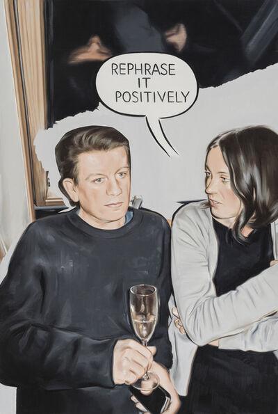 Marcin Maciejowski, 'Rephrase it positively', 2018