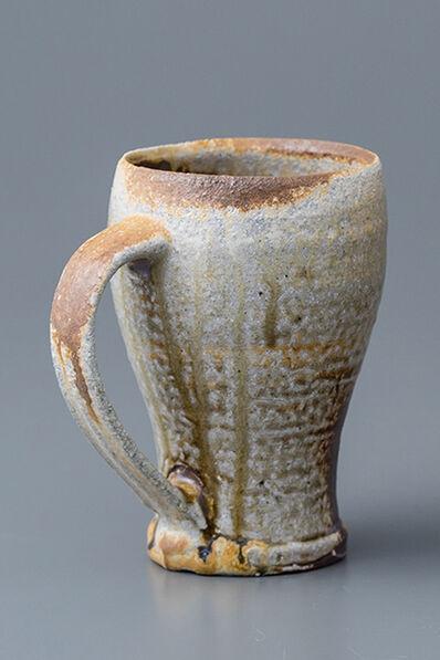 Ken Matsuzaki, 'Beer mug, yohen natural ash glaze', 2018