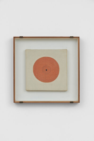 Bice Lazzari, 'Il cerchio (The circle) or Disco rosso (Red disk) ', 1967