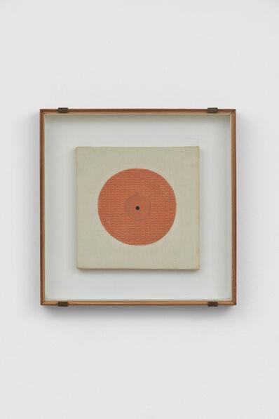 Bice Lazzari, 'Il cerchio (The circle) or Disco rosso (Red disk) ', 1967