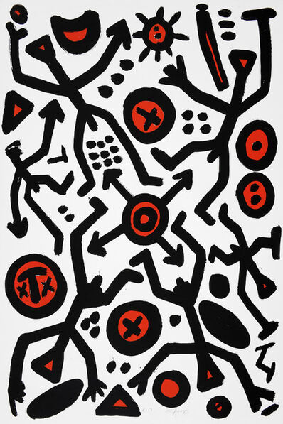 A.R. Penck, 'Spirit of Europe ', 1991