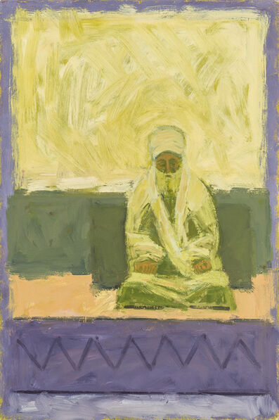 Ophir Agassi, 'Silent Figure (Yellow)', 2015