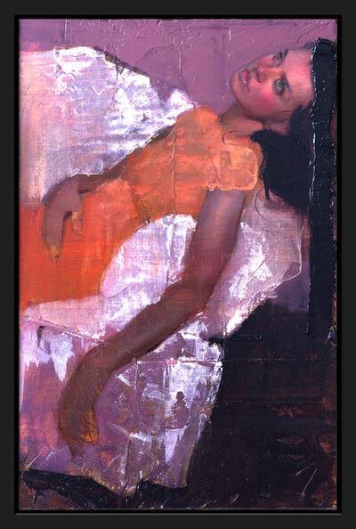 J. Louis, 'Orange Dress', 2018