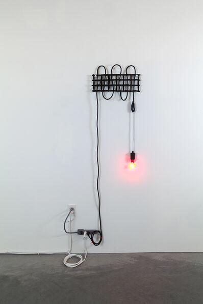 Dana Hemenway, 'Untitled (Grid No. 4 – Black)', 2016