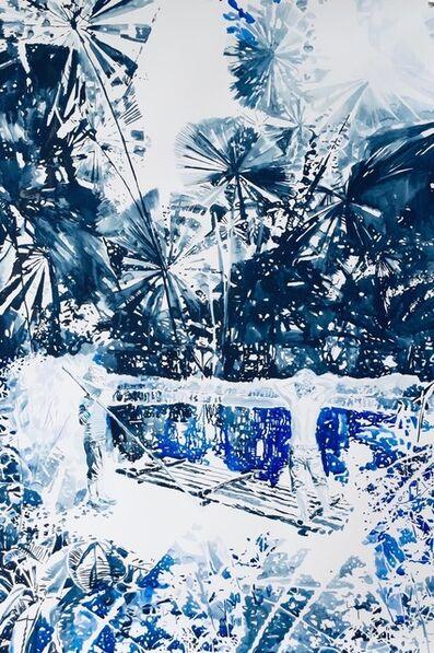 Malgosia Jankowska, 'Urwald in blau', 2021