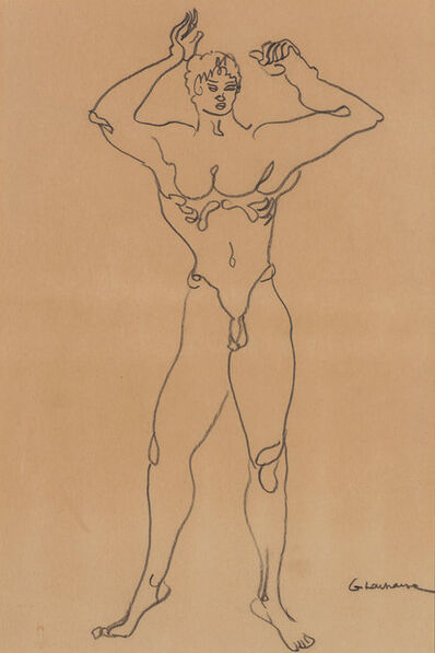 Gaston Lachaise, 'Standing Male Nude'