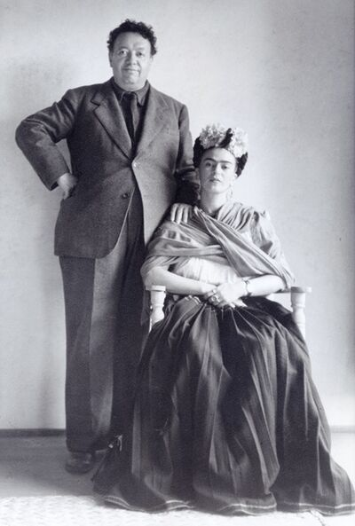 Nickolas Muray, 'Diego and Frida, San Francisco', 1940