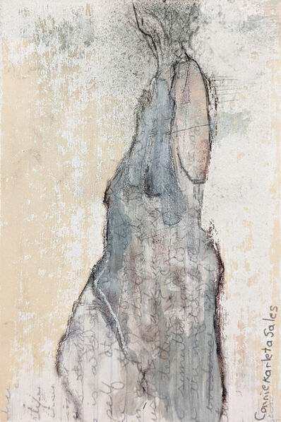Connie Karleta, 'Love Writes into the Marrow of Being II (Posstcard)', 2021